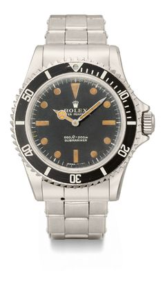 Submariner ref. 5513 worn by Roger Moore