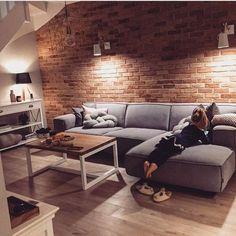 The Best 2019 Interior Design Trends - Interior Design Ideas Home Living Room, Apartment Living, Interior Design Living Room, Living Room Designs, Living Room Decor, Living Spaces, Living Room Colors, Home Fashion, Design Case