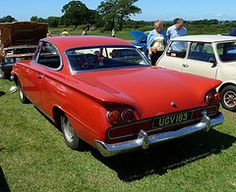 Ford Consul Capri (Rear) (richwall100 - Thank you for Two Million views) Tags: auto ford car automobile consulcapri