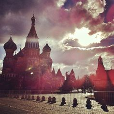 Red square @ Moscow, Russia by Leonid Mikhaylov on 500px.