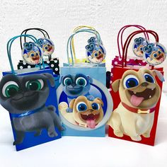 Puppy Dog Pals Party Bags - Source by jasmine_harris_ 2nd Birthday Party For Boys, Puppy Birthday Parties, Puppy Party, Birthday Party Themes, Birthday Ideas, 1st Birthdays, Party Bags, Dogs And Puppies, Note