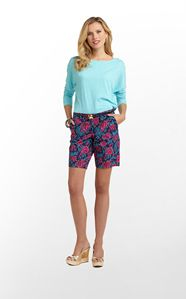 AVENUE SHORT - BRIGHT NAVY JAMMINfrom Ocean Palm and Lilly Pulitzer
