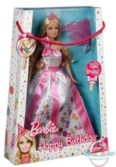 Happy Birthday Barbie w/ Lollipop Dress