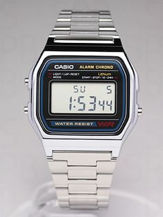 Casio A158WA #relojes #Watches #Casio