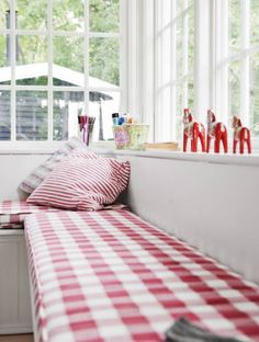 Red gingham - love it!!