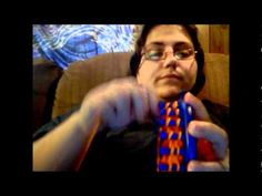 """▶ Simply Intertwined: Can/Bottle Koozie - YouTube......this one shows how to do the """"drawstring cast on""""  I use the Flower loom to make these...as the blue size seems to make them just a bit too loose."""