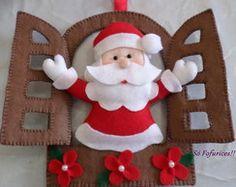 Feltro : Enfeite de Natal