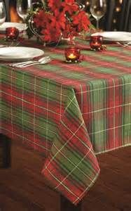 Christmas Tablecloths. Christmas Table ClothChristmas TablesPlaid ...