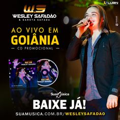 CD PROMOCIONAL Wesley Safadão e Garota Safada - Ao vivo em Goiânia - Setembro 2014  http://suamusica.com.br/wesleysafadaosetembro  BAIXE SEM MODERAÇÃO!