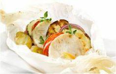 Fishburgers de Pescada em Papillotes Abertos à Mediterrânea - Consultem esta deliciosa receita e ajudem-me a ganhar um Tablet na Promoção Poupar e Ganhar, só com a Pescanova.