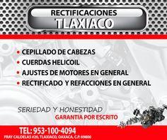 Rectificaciones en Tlaxiaco.