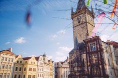 La place de la Vieille Ville San Francisco Ferry, Big Ben, Building, Travel, Visit Prague, Old Town, Viajes, Buildings, Destinations