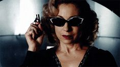 """fierce & fabulous / spy – Alex Kingston as River Song – Doctor Who 05x04 """"The Time of Angels"""""""