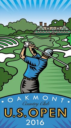 Open at Oakmont: Will The Town Finally Be a Player? Open is returning to Oakmont — and unlike previous tournaments Golf Images, Sports Images, Burton Morris, Pop Art Food, Us Open Golf, Cricket Poster, Golf Stance, Golf Art, Poster Drawing