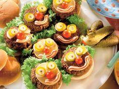 Hamburgery na kanapki - przepis -Przepis