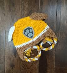 Image result for free paw patrol crochet pattern Gorros De Lana 8bf5ce5bb3c