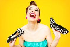 Pin-up shoemaniac by Katerina Pavlickova on 500px