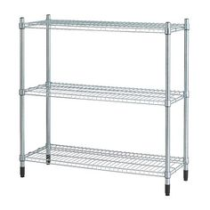 Ikea had a version of this that was 18 inches square. I had it from before but it fit into a corner of the hooch nicely OMAR Shelving unit IKEA Easy to assemble, no tools required. Can be added on to vertically in order to provide more storage space. Kitchen Ikea, Kitchen Shelves, Kitchen Ware, Pantry Storage, Storage Spaces, Storage Ideas, Storage Organizers, Pantry Shelving, Storage Systems