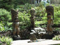 Upcountry Maui, Garden of Chieftans Tiki Art, Tiki Tiki, Maui Hawaii, Hawaii Travel, Kula Maui, Go Usa, Chameleons, Travel Set, Hawaiian Islands