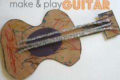 guitar craft for kids