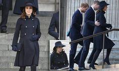 Duchess of Cambridge dresses in black for Grenfell memorial service
