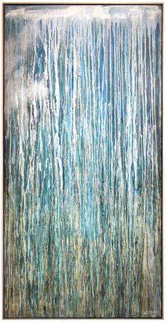 Pat Steir - Waterfall 1988