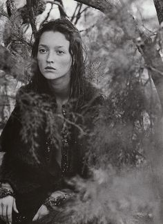 The Bohemian Couture in Vogue Italia by Peter Lindbergh