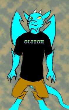 Qujin T shirt Glitch logo by Qujin.deviantart.com on @DeviantArt