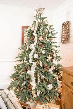 Woodland Inspired Christmas Tree