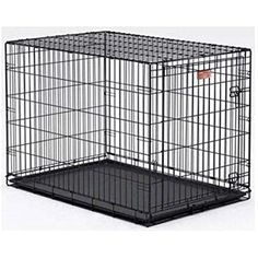 """Midwest Life Stages Single Door Dog Crate 22"""" x 13"""" x 16"""" * You can find more details by visiting the image link. (This is an affiliate link) #CratesHousesPens"""