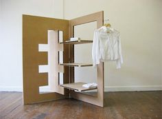 -90° Furniture: A Flatpack Apartment//Lowrien Kaptein | archiCentral