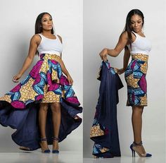 100 Latest Ankara Styles 2020 for High Class Beautiful Ladies. Beautiful Ankara Styles Beauty is everything in the world today and as a lady, Ankara African Fashion Designers, African Inspired Fashion, African Print Fashion, Africa Fashion, Fashion Prints, African Print Skirt, African Print Dresses, African Fashion Dresses, African Prints