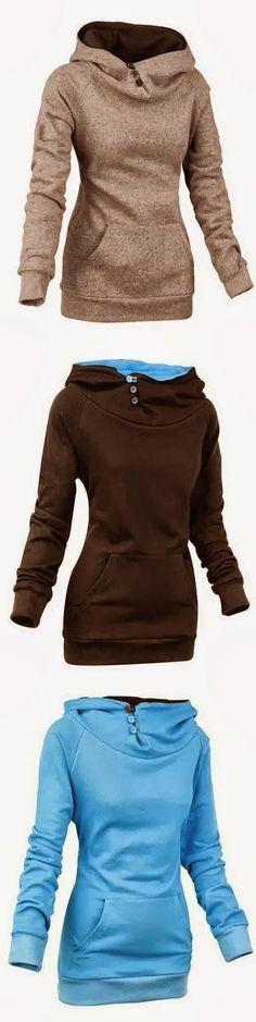 Comfy Long Sleeve Women's Hoodie