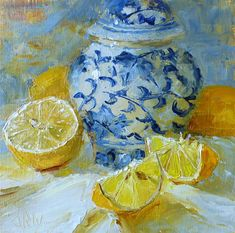 Original Fine Art By © Janet Reid Wilson in the DailyPaintworks.com Fine Art Gallery Tea Cup Art, Tea Jar, Painting Still Life, Fine Art Gallery, Wood Paneling, Plates On Wall, Art Oil, House Warming, Give It To Me