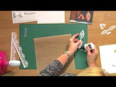 Craft Dies by Sue Wilson -- Tutorial Video; White Wedding Card for Creative Expressions