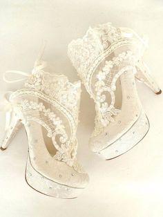 660e605ee1b57 Wedding Shoes Something Blue Bridal Shoes Embroidered Ivory - #bridal  #embroidered #shoes #