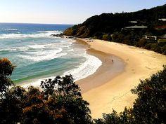 Wategos Beach, Byron Bay, Australia - one of 12 must visit beaches in Oz: http://www.ytravelblog.com/beaches-in-australia/