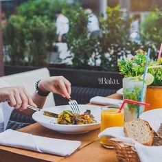 Dinner on the terrace of Baku Café #bakucafe #beatgroup #baku #azerbaijan #restaurants #cafe #cuisine #food