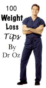 100 Weight Loss Tips By Dr Oz - Skinnyan