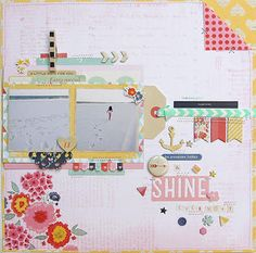 Be Awesome Today & Shine Everyday *American Crafts* by patricia at Studio Calico
