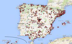 LA DISTRIBUCIÓN TERRITORIAL DE LOS FESTIVALES ESPAÑOLES DE ARTES ESCÉNICAS Y MÚSICA