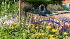 We recently had a dementia friendly garden at Hampton Court Flower Show. The garden was designed specifically to be calming for those living with dementia. | #dementia #garden #sensorygarden #flowershow #hamptoncourt #london #landscaping |