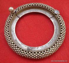 Vintage antique tribal old silver bracelet by indiantribaljewelry, $364.00
