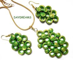 DAYDREAMS: Paper quilled jewellery