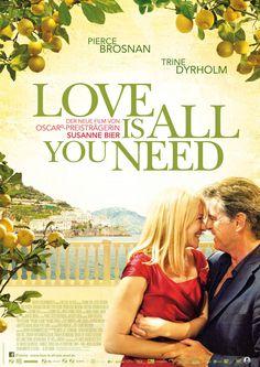 Amor es todo lo que necesitas ( cartel alemán )