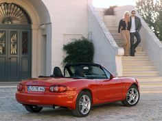Photos of Mazda Roadster (NB) - Free pictures of Mazda Roadster (NB) for your desktop. HD wallpaper for backgrounds Mazda Roadster (NB) photos, car tuning Mazda Roadster (NB) and concept car Mazda Roadster (NB) wallpapers. Mazda Miata, Concept Cars, Cars And Motorcycles, Convertible, Dog, Photos, Diy Dog, Infinity Dress, Pictures