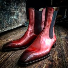 Freccia Bestetti — Bespoke ankle boots in Perfetta last, dark meleze
