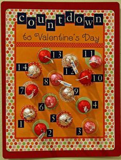 Valentine Countdown *Free Download* for Generic, boy & girl version or 3 different color choices