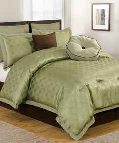 Take a look at this Sage Winston Comforter Eight Piece Set by Duck River Textile on #zulily today!