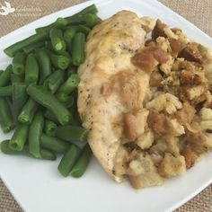 Crock pot chicken and stuffing is an easy and delicious dinner the whole family will enjoy